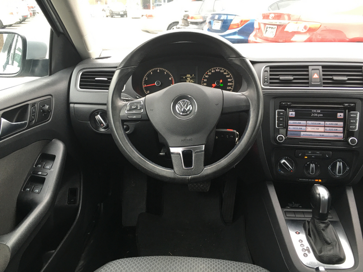 Interior image of car